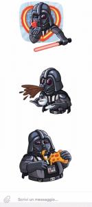 Anche Darth Vader è su Telegram
