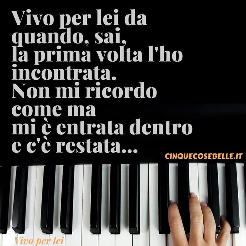 Vivo per lei di Andrea Bocelli e Giorgia
