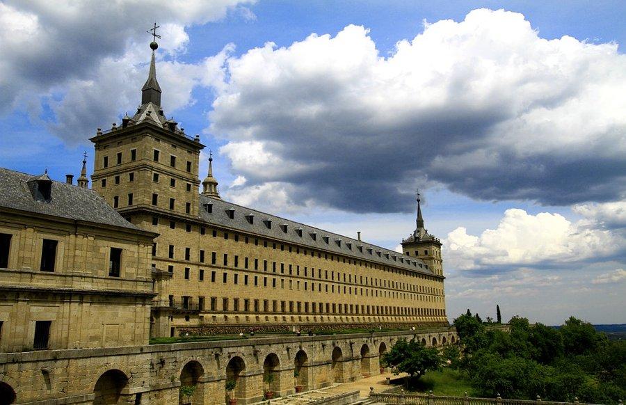L'Escorial, non troppo distante da Madrid