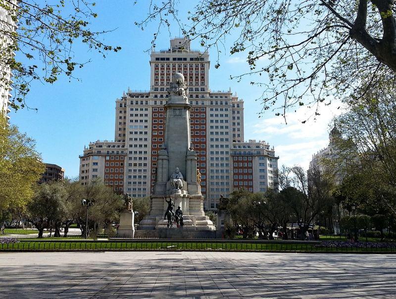 Plaza de España a Madrid