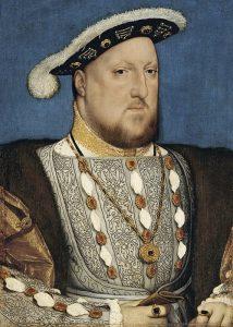 Ritratto di Enrico VIII d'Inghilterra ad opera di Hans Holbein il Giovane conservato al Museo Thyssen-Bornemisza di Madrid