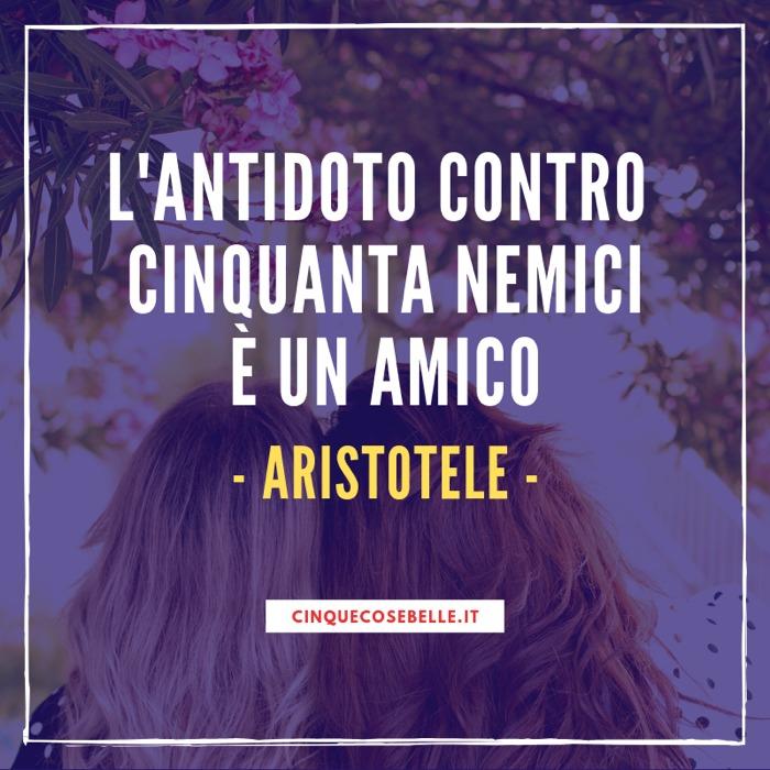 Aristotele sugli amici