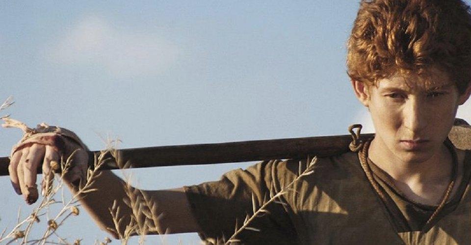 Un fotogramma del film dedicato a Rosso Malpelo uscito nel 2007