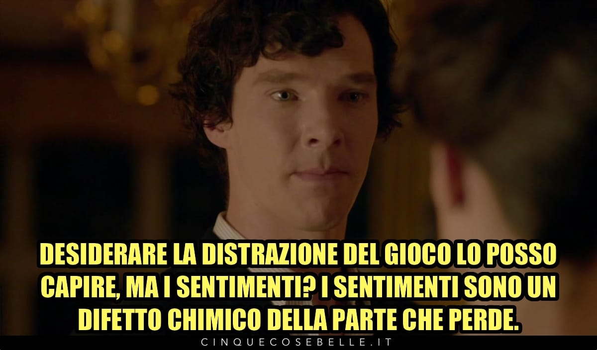 Sherlock e i sentimenti