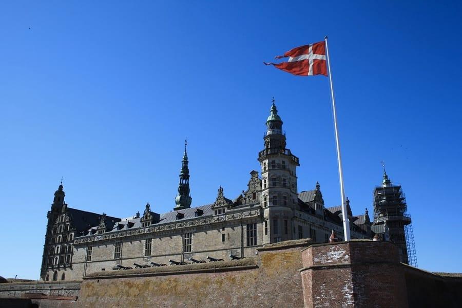 Il castello di Kronborg a Copenaghen