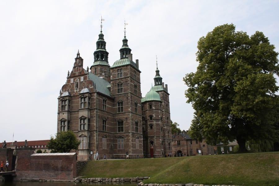 Il Castello di Rosenborg a Copenaghen