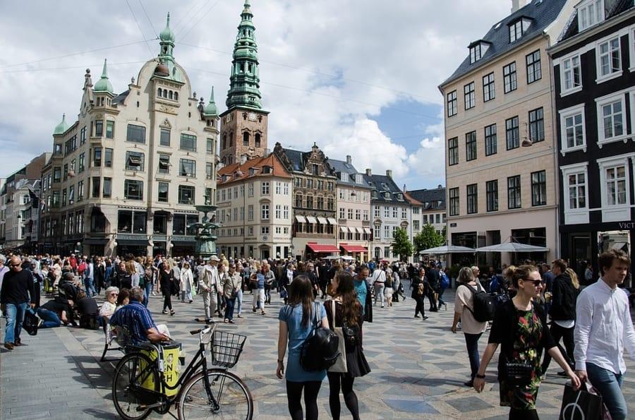 Lo Strøget di Copenaghen