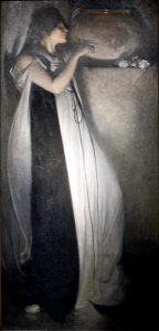 Lisabetta da Messina in un quadro di fine Ottocento di John White Alexander