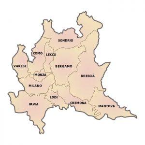 Le province della Lombardia