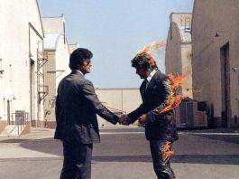 La foto di copertina di Wish You Were Here dei Pink Floyd