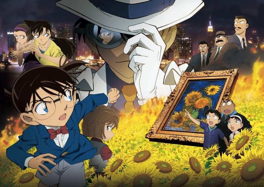 Il cast di Detective Conan