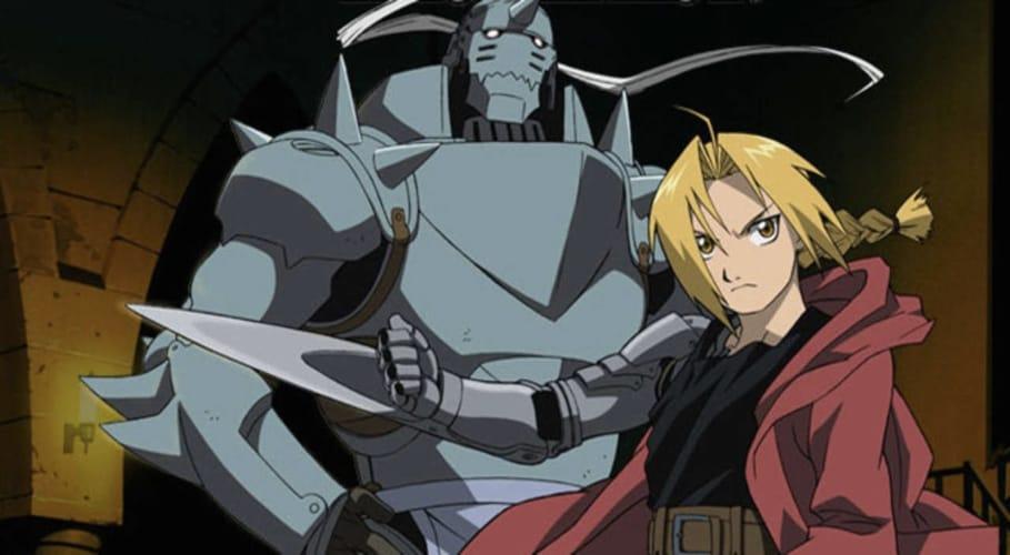 I protagonisti di Fullmetal Alchemist