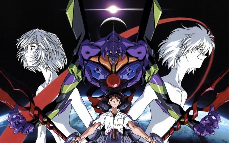 I protagonisti di Neon Genesis Evangelion