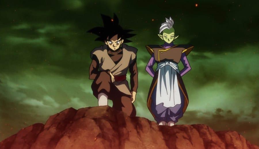 Black Goku e Zamasu