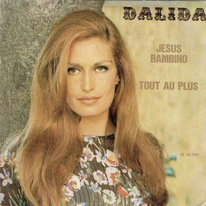 Il disco di Dalida con Jesus bambino, in cui reinterpretava 4 marzo 1943 di Lucio Dalla
