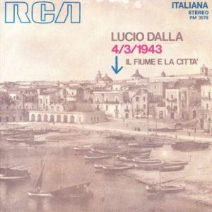 La copertina del singolo di 4/3/1943