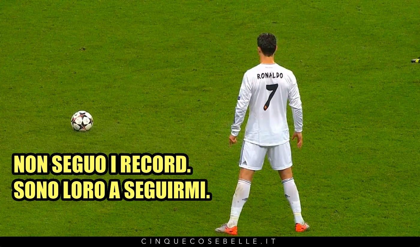 Una citazione di Cristiano Ronaldo