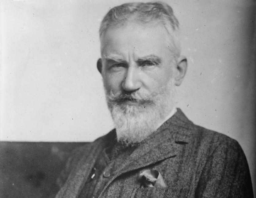 George Bernard Shaw nel 1914