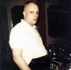 Syd Barrett nel 1975 negli studios di Abbey Road