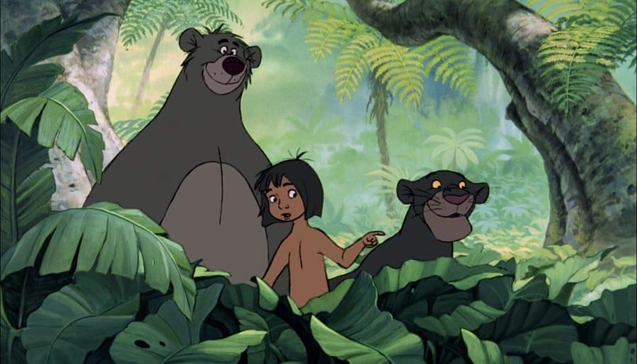 I protagonisti de Il libro della giungla, cartone della Disney