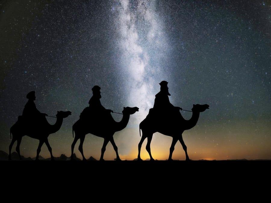I tre re magi in viaggio