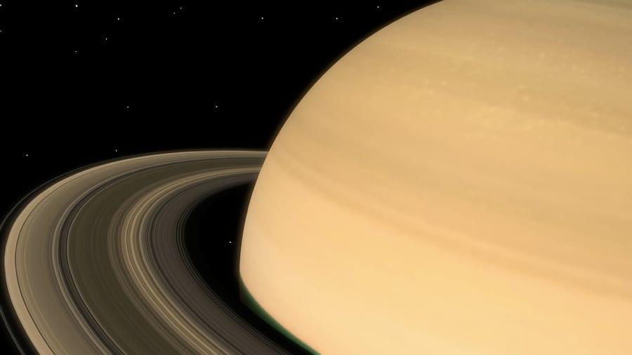 Saturno e i suoi anelli
