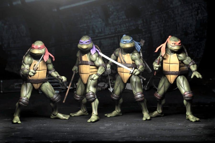 Le quattro Teenage Mutant Ninja Turtles