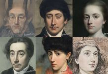 Alcuni esempi di selfie rifatti tramite AI Portraits