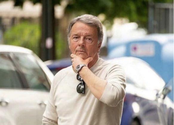 Matteo Renzi più vecchio