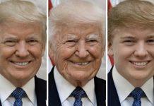 Trump ringiovanito e invecchiato