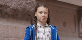 Greta Thunberg (foto di Anders Hellberg via Wikimedia Commons)