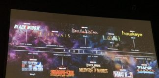 Arriva la fase 4 del Marvel Cinematic Universe
