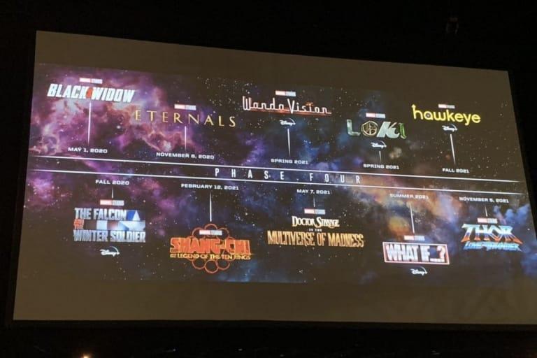 Arriva la fase 4 del Marvel Cinematic Universe