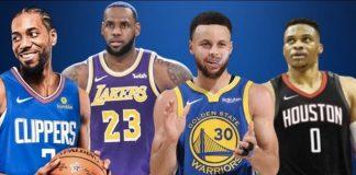 Alcuni dei protagonisti della prossima stagione NBA