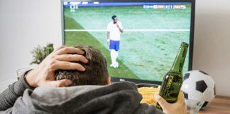 I tifosi davanti alla TV