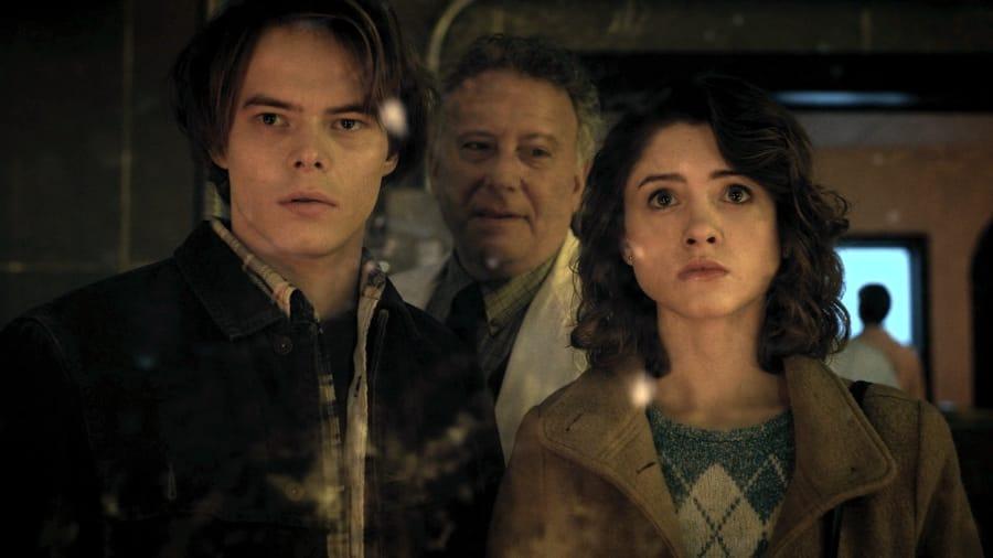Nancy e Jonathan col dottor Owens