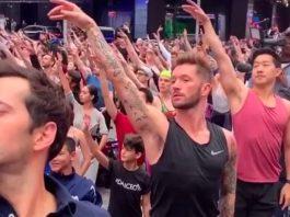 Alcuni dei ballerini che si sono esibiti a Good Morning America