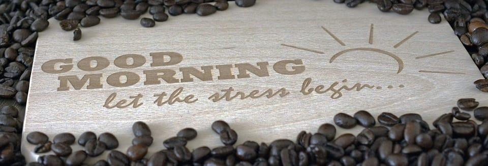 Caffè a inizio giornata
