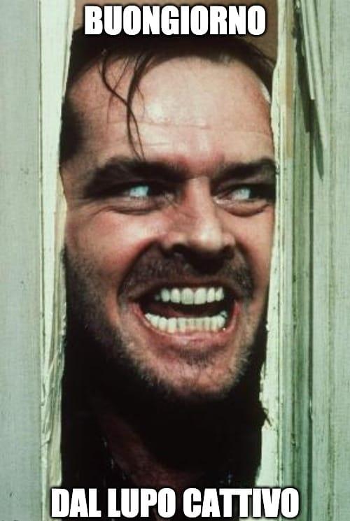 Jack Nicholson e i suoi auguri inquietanti