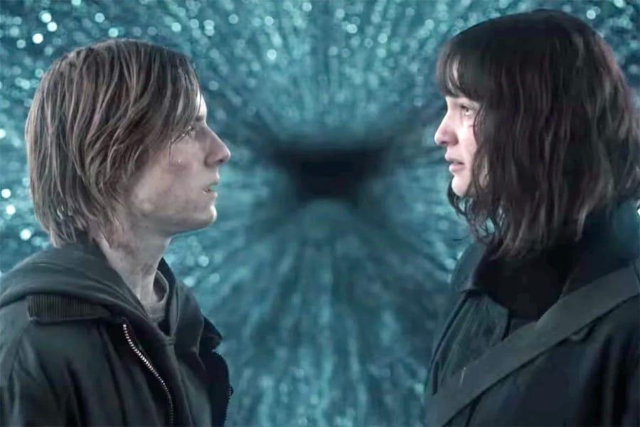 Una delle ultime scene di Dark, con Jonas e Martha