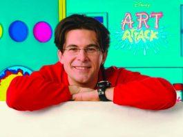 Giovanni Muciaccia ai tempi di Art Attack