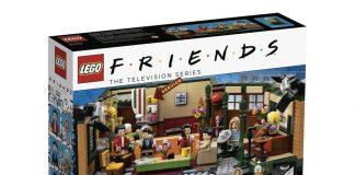 La scatola del nuovo set LEGO dedicato alla serie TV Friends