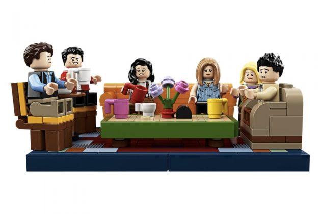 I personaggi di Friends in versione LEGO