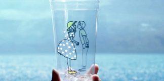 Il bicchiere del McFizz di McDonald's in Giappone