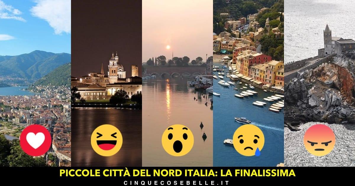 La finale del nostro sondaggio sulle migliori piccole città del nord Italia