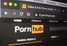 Il sito di PornHub