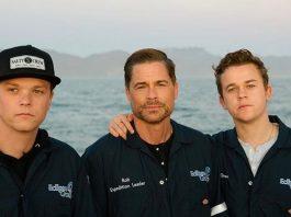 Rob Lowe coi suoi figli