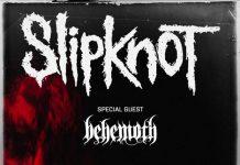 Il manifesto del concerto milanese degli Slipknot e dei Behemoth