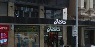 Il negozio Asics di Auckland
