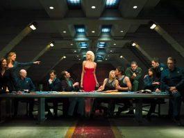 Alcuni dei protagonisti di Battlestar Galactica, che presto tornerà su NBC Peacock